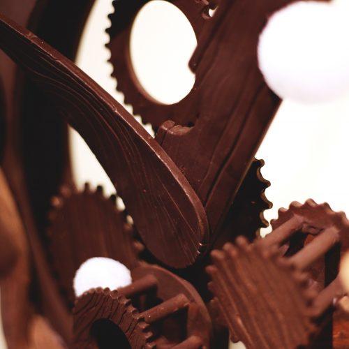 Sjokoladeskulptur